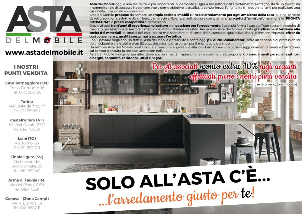Asta del mobile mobilifici mds for Mobilifici lombardia